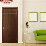Puerta de madera de la melamina del diseño del panel (GSP13-005)