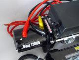 4X4 12V/24V DCの頑丈な電気ウィンチ(12000lb-4)