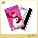 Tarjeta plástica del PVC, impresión de la tarjeta de RFID con el código de barras (CKT-CB-763)