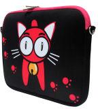 Manicotto del computer portatile del neoprene competitivo 15 del gatto popolare della scatola ''