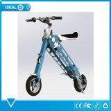 """10 """"折る電気バイクか自転車またはスクーター"""