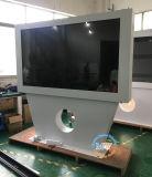 Affissione a cristalli liquidi esterna del basamento del pavimento che fa pubblicità al chiosco del contrassegno di Digitahi dello schermo