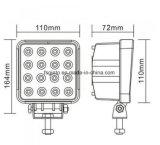 Luz del trabajo de E-MARK 48W 4inch Epistar LED para el acoplado (GT1015-48W)