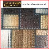 Tela feita malha poliéster 100% da cortina de veludo da impressão da tela (EDM116)