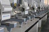 Máquina principal de calidad superior del bordado de la alta calidad con el casquillo multi de las funciones / la camiseta / uniforme / ropa plana / toalla / bordado 3D