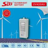 Batería del gel de Opzv 2V420ah Tublar para solar