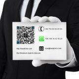 Edelstahl-schwarze Farben-Kettenarmbanduhren für Männer 72330