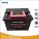 De nieuwe Batterijen van het Onderhoud van het Type Mf55531 Vrije Automobiele 12V 55ah