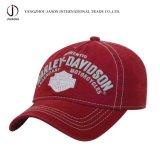 Casquillo lavado del deporte de la gorra de béisbol del emparedado del sombrero de la manera del ocio de la gorra de béisbol del algodón