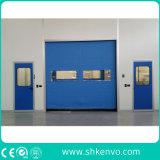 Sistemas rápidos autorreparadores de la puerta de la tela del PVC para el sitio limpio
