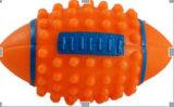 ビニールのオリーブ色の球犬のおもちゃ、ペットおもちゃ