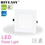 12W el panel ligero cuadrado del acrílico LED con Ce&RoHS