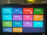 Rectángulo combinado de Ipremium S2+IPTV TV del modelo nuevo con el software intermediario del acosador