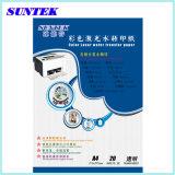 Papel de transferencia del agua de la inyección de tinta de la certificación del SGS de Cnt