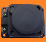 Гнезда выдвижения черноты 1-Way Германии Ce промышленные электрические/прокладка силы (E6110E)