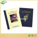 縫う結合のハードカバー本の印刷、オフセット印刷サービス(CKT-BK-738)