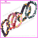 2016 Fashion Multi-Color Rope Men titane bracelet sport