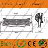 Barra clara do diodo emissor de luz fora da iluminação 30With36With60With120With180With240With330W da estrada
