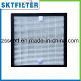Material H13 del filtro del purificador HEPA del aire