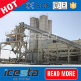 Máquina de gelo refrigerando de Icesta 15000kg e de mistura concreta