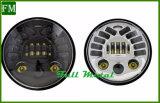 Faro rotondo del nuovo nero LED di 7 pollici per la jeep Jk illimitato