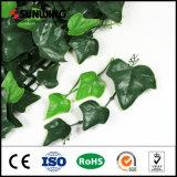 Planta artificial da tela impermeável com as folhas UV para o uso ao ar livre