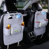 Promoção Custom Multi-Pocket Car Accessories Car Back Seat Cover Organizer