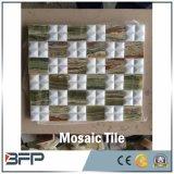 Mosaico de mármore branco dos vários projetos para a decoração