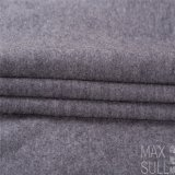 100% Durable Wool for Fabric Winter in Dark Gray