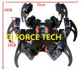 Arduino контролировало спайдер 6 Al Hexapod набор рамки робота 3 ног Dof + установленное струбциной полно - совместимое Arduino