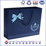 Bolso del regalo de las compras del papel de impresión de color de punto para empaquetar