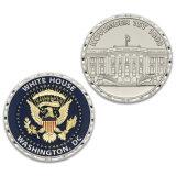 Pièce de monnaie de souvenir d'or de police personnalisée par qualité