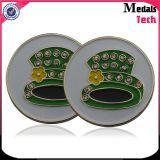 Indicatori magnetici della sfera di golf della clip del cappello del metallo poco costoso del magnete