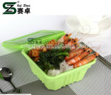 850ml Square Disposable Plastic Food Box