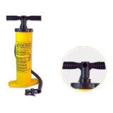 Bomba de color amarillo Aire Inflater Mano con 2 funciones (inflarse o desinflarse)