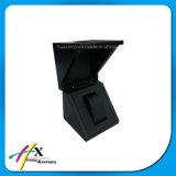 Rectángulo de almacenaje de madera hecho modificado para requisitos particulares de la joyería del embalaje del regalo del reloj