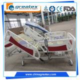 5機能Linak ICUの電気病院用ベッドの忍耐強い上昇(GT-BE5026)