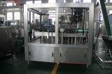 Cerveja automática do frasco 3 in-1 de vidro que faz a cadeia de fabricação de enchimento