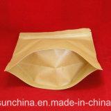 Saco de empacotamento do chá plástico da impressão com Zipper