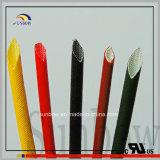 Chemise isolante faite sur commande de fibre de verre de silicones de résistance d'incendie dans Sunbow