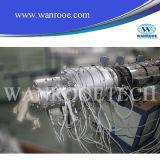 Extrusora de parafuso duplo cônico com tubo de PVC