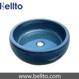 Mercancías sanitarias de cerámica con el lavabo del color (C-1044)