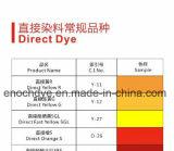 Directe Kleurstoffen Gele 12 voor het Verven van het Document