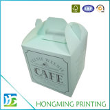 Boîte bon marché faite sur commande à gâteau de Livre Blanc