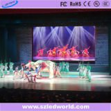 P4 Location Coloring Die-Casting LED Screen Rental Interior Black Body