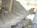 Tegels van de Plakken van de luxe de Zilveren Grijze Marmeren voor de Decoratie van de Muur van de Vloer