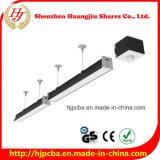 свет 0.6m 1.2m 24W 48W 60W 130-150lm/W СИД линейный для рынка пакгауза супер