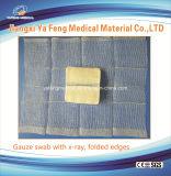 X線との病院の使用のための医学の消費可能なガーゼの綿棒