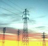 Torre de acero de la transmisión del voltaje 330kv