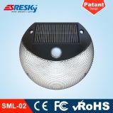 Garten-Lampen-Bewegungs-Wand-Solarlicht LED-2W helles für Hauptsolarbeleuchtung mit hochwertigem